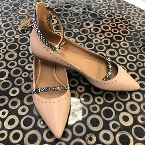 NWOB Coach Rockwell Studded Pointed Toes Flats 10